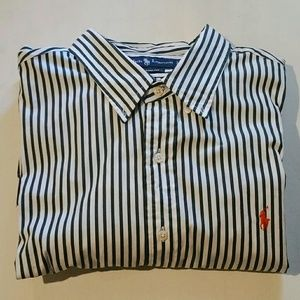 Ralph Lauren Custom Fit Button Down Long Sleeve